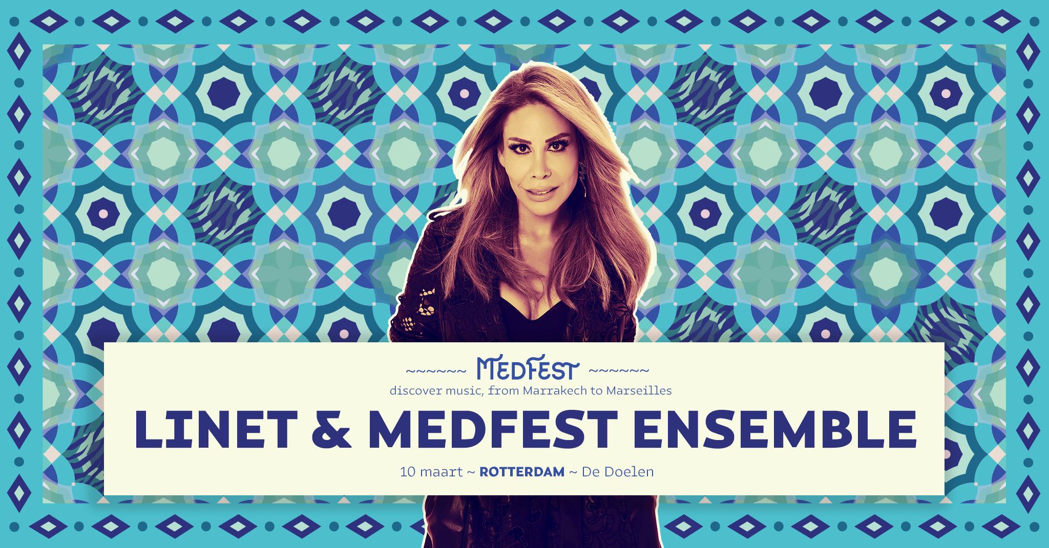 Linet - MedFest :: 10 maart - De Doelen Rotterdam