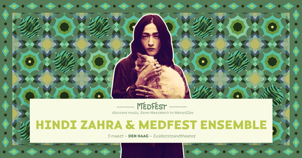 Hindi Zahra - MedFest :: 13 maart - Zuiderstrandtheater Den Haag